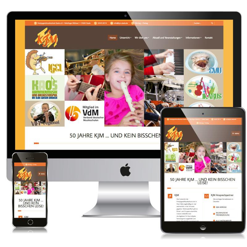 KJM Webseite