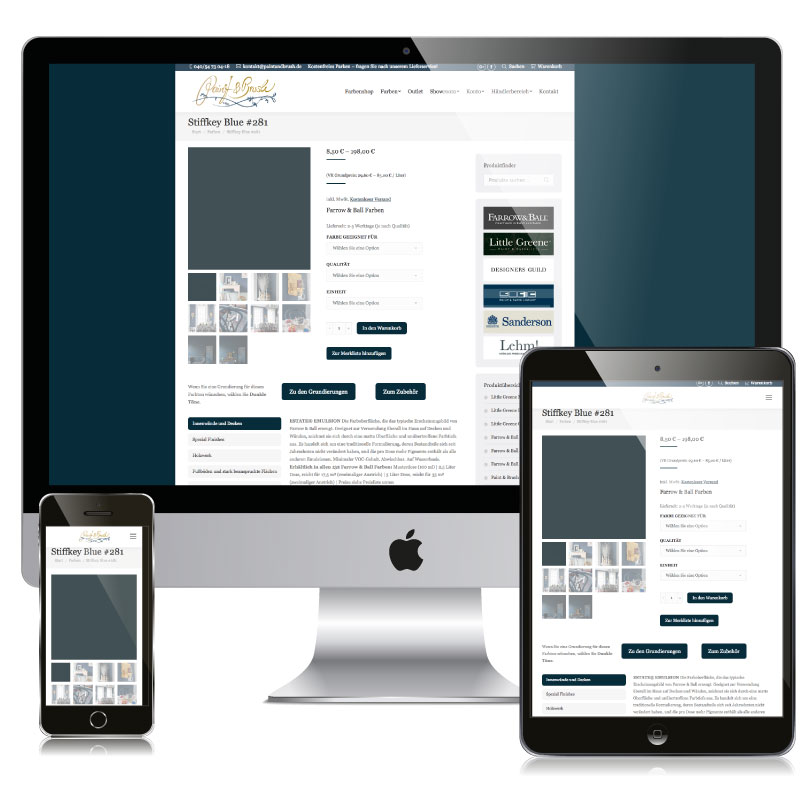 Paint & Brush Onlineshop